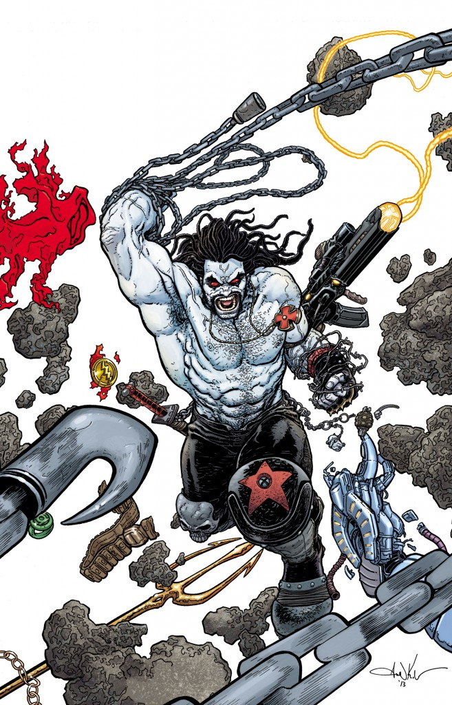 Das Cover von Justice League 23.2: Lobo (Quelle: DC)
