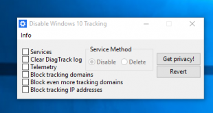 Windows 10 Tracking abschalten
